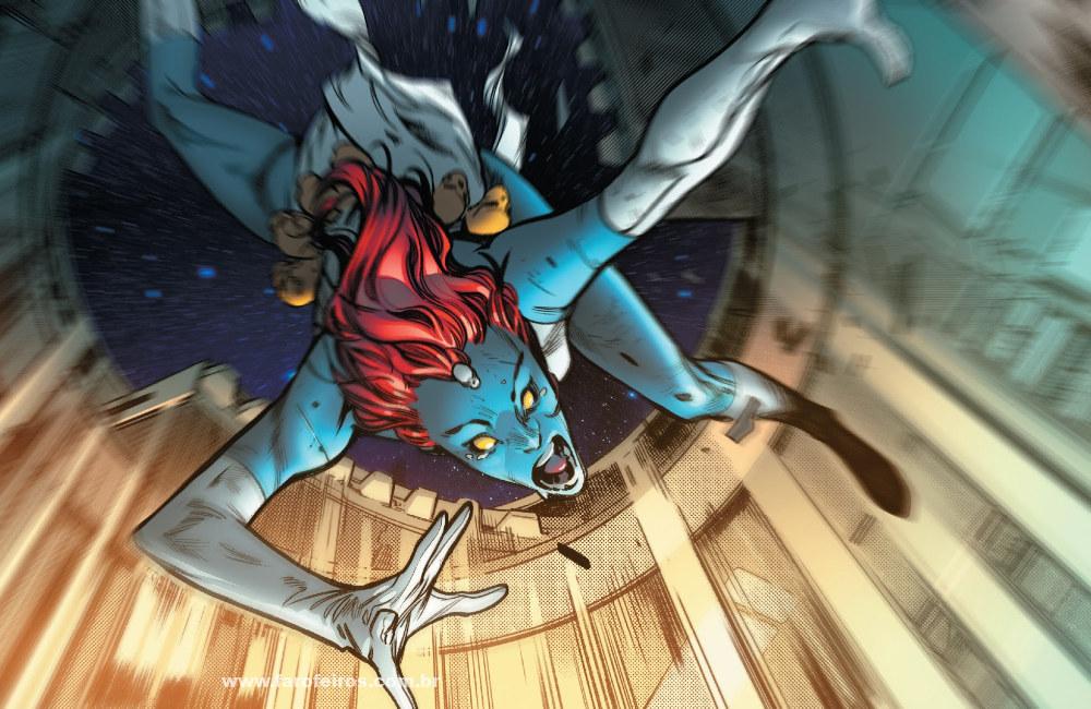Mística - Tudo dá errado em House of X #4 - Marvel Comics - Blog Farofeiros