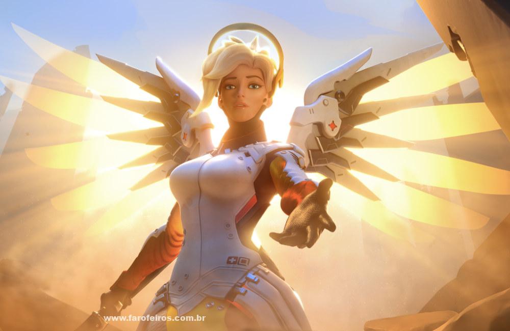 Mercy - Overwatch - Falar é a melhor solução - Blog Farofeiros