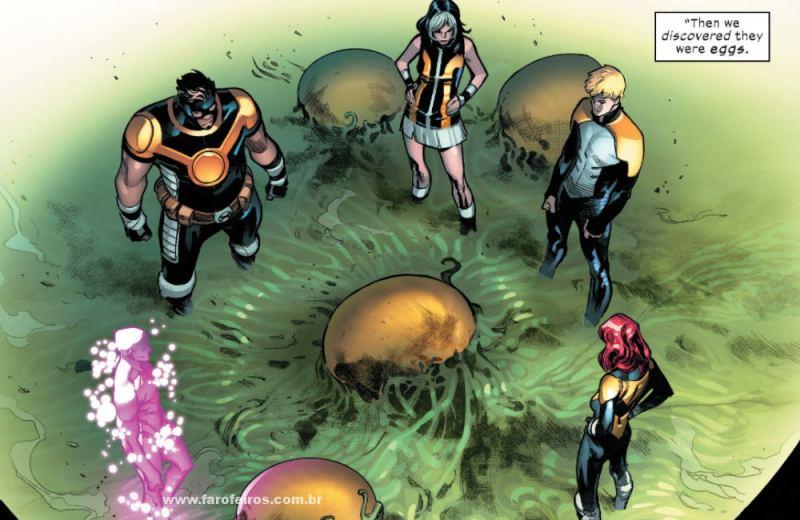 Os Cinco - Tempus - Goldballs - Elixir - Hope - Proteus - X-Men - House of X - Ressurreição Mutante - Blog Farofeiros