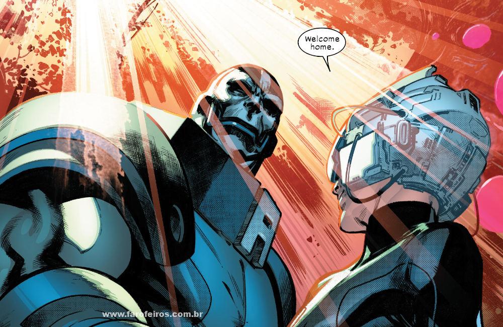 Professor X - Apocalipse - Krakoa - X-Men - Deu tudo certo em House of X #5 - Marvel Comics - Blog Farofeiros