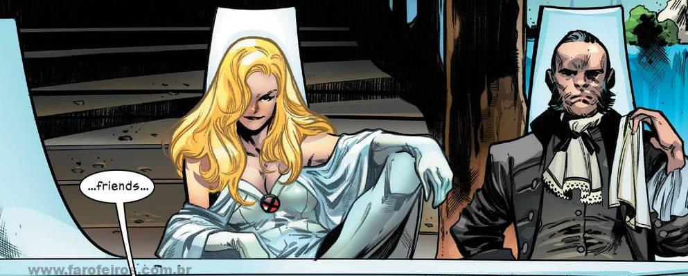 Rainha Branca - Rei Preto - X-Men - O Conselho de Krakoa - Blog Farofeiros