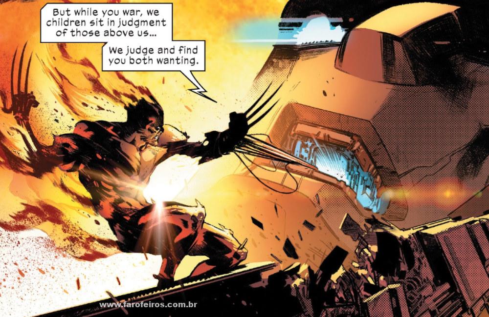 Wolverine - Molde Mãe - Tudo dá errado em House of X #4 - Marvel Comics - Blog Farofeiros