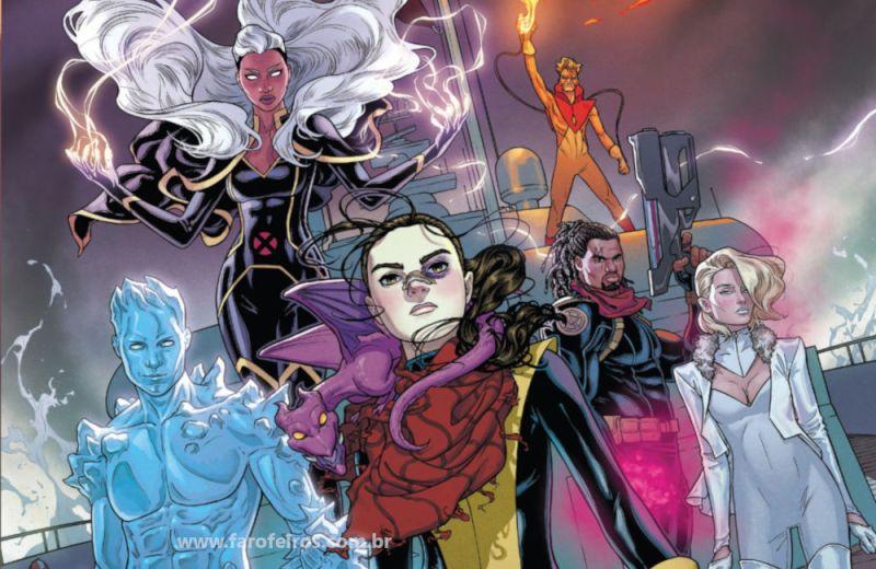 X-Men - O Diamante Vermelho - Marauders #1 - Carrascos
