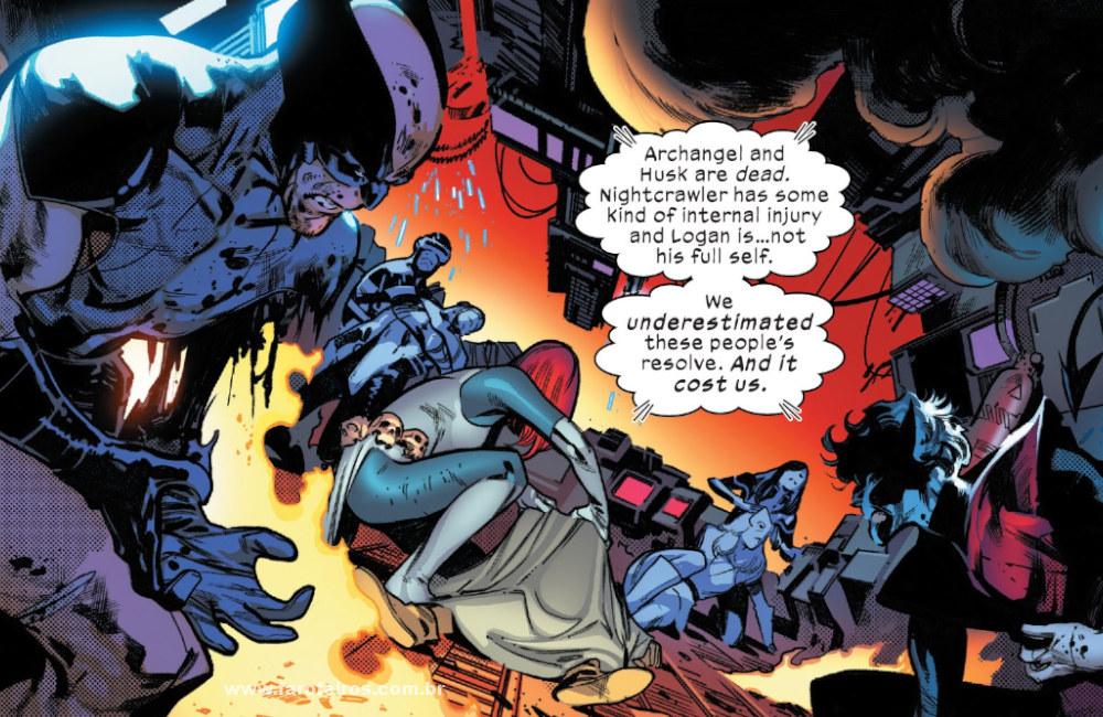 X-Men feridos - Tudo dá errado em House of X #4 - Marvel Comics - Blog Farofeiros