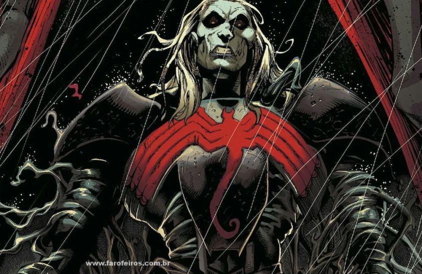 Knull - Criador dos simbiontes - Os simbiontes da Marvel Comics - Blog Farofeiros
