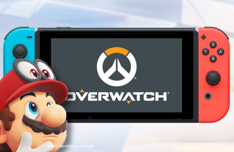 Super Mario - Nintendo Switch - Overwatch - Como arruinar a boa reputação da Blizzard em 10 lições - Blog Farofeiros