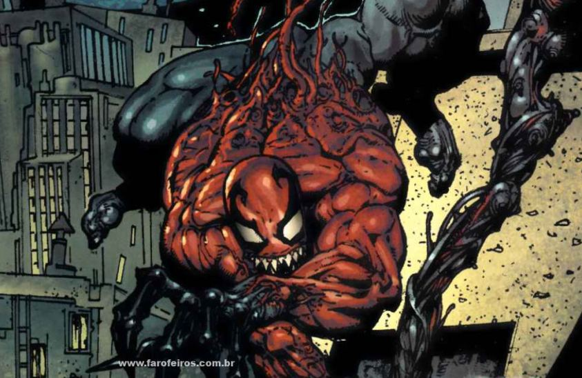 Toxina - Os simbiontes da Marvel Comics - Blog Farofeiros