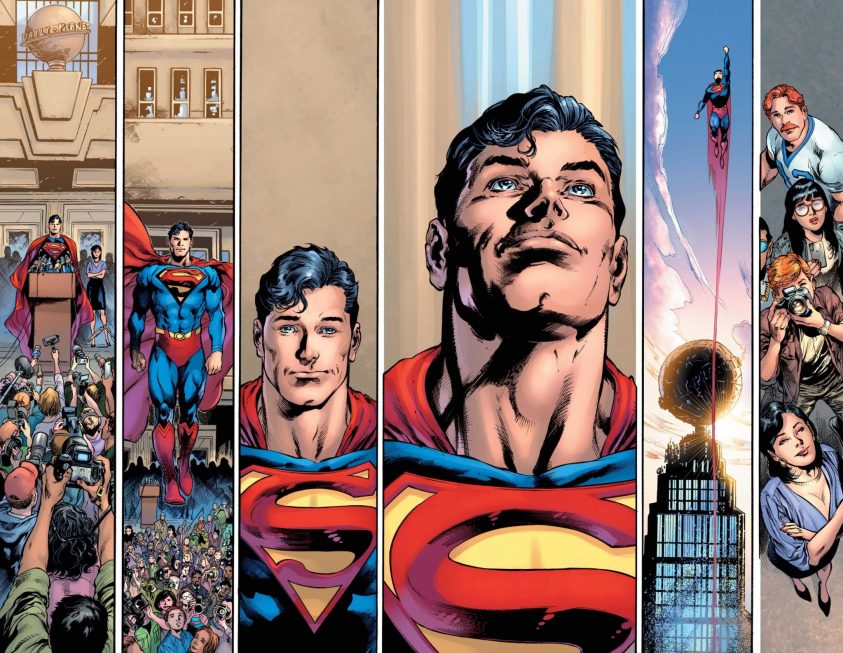 Clark Kent é o Superman - Preview Superman #18 - 3 - Blog Farofeiros