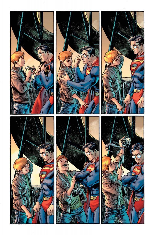 Clark Kent é o Superman - Preview Superman #18 - 6 - Blog Farofeiros