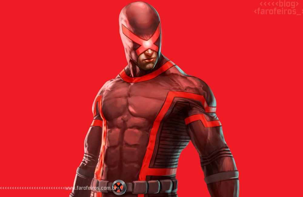 Heróis mascarados - 1 - Ciclope revoltado vermelho - Blog Farofeiros