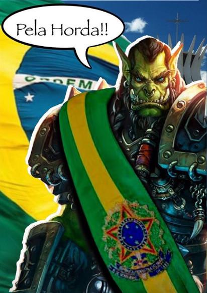 Horda pelo Brasil - Thrall Presidente por B.GENUINK - Blog Farofeiros