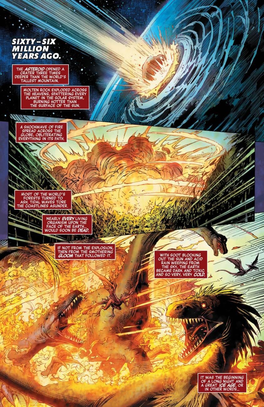 O primeiro super herói da Marvel foi um dinossauro - Vingadores - Estigma - Avengers #26 - Blog Farofeiros - 3
