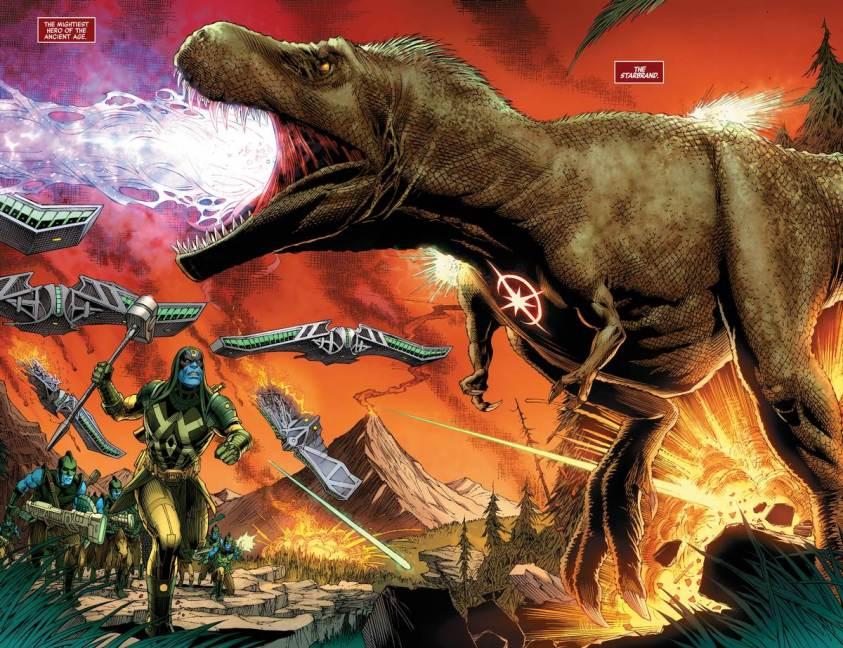 O primeiro super herói da Marvel foi um dinossauro - Vingadores - Estigma - Avengers #26 - Blog Farofeiros - 5