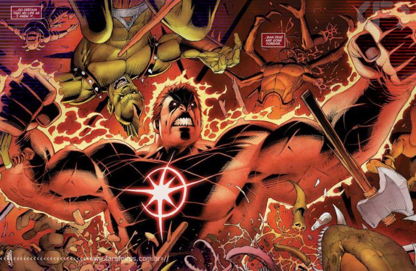 O primeiro super herói da Marvel foi um dinossauro - Vingadores - Estigma - Avengers #26 - Blog Farofeiros - Vnn