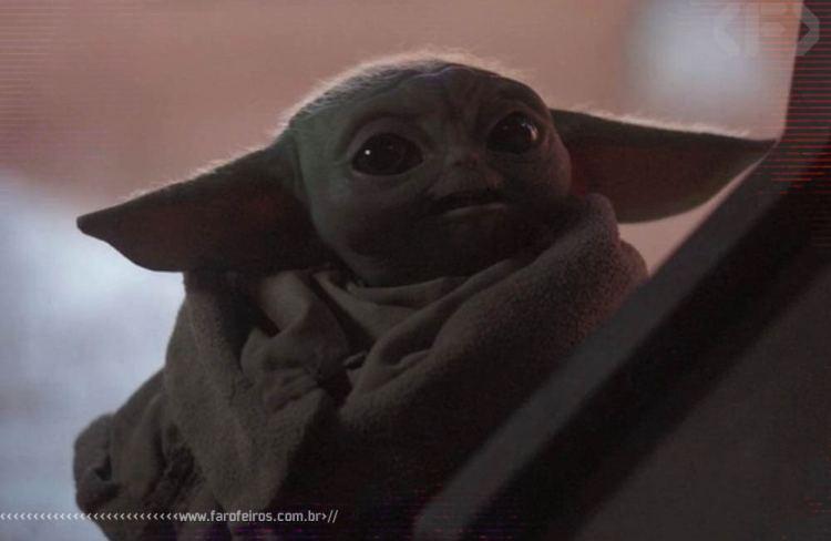 Yoda Neném - Baby Yoda - Blog Farofeiros - 2