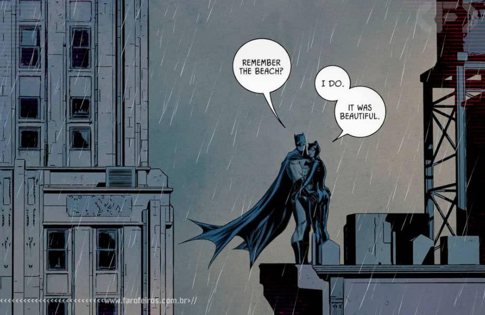 Outra Semana nos Quadrinhos #22 - Batman #85 - Batman e Mulher Gato lembram da praia - Blog Farofeiros