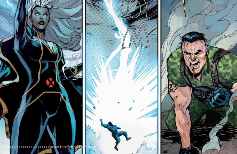 Outra Semana nos Quadrinhos #22 - Marauders #4 - Tempestade dando choque no milico - Blog Farofeiros