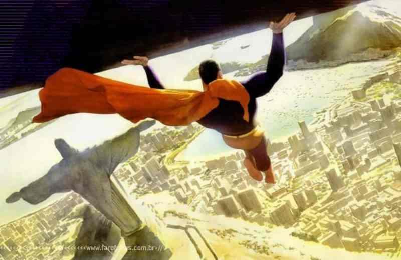 A arte de Alex Ross - Superman - Rio de Janeiro - Blog Farofeiros