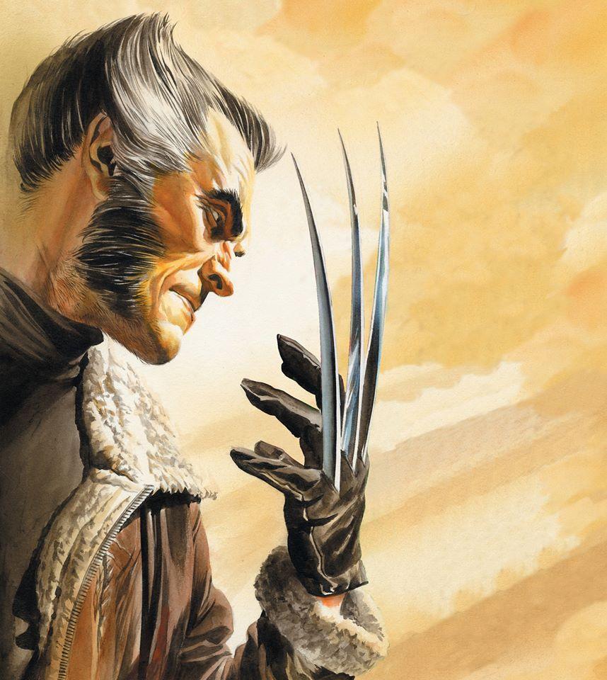 A arte de Alex Ross - Wolverine - Blog Farofeiros