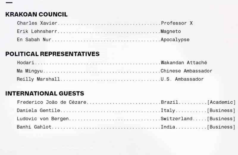 Política com Magneto em X-Men #4 - X-Men #4 - Membros da reunião na OMC - Blog Farofeiros