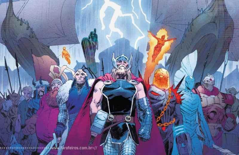 Thor de Donny Cates - Motoqueiro Fantasma Cósmico - Surfista Prateado - Asgardianos - Blog Farofeiros