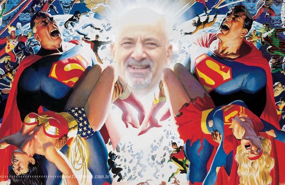 Dan DiDio em Crise - DC Comics - Blog Farofeiros - 2