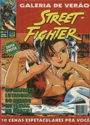 Street Fighter no Brasil - Chun Li - Capa - Galeria de Verão - Blog Farofeiros
