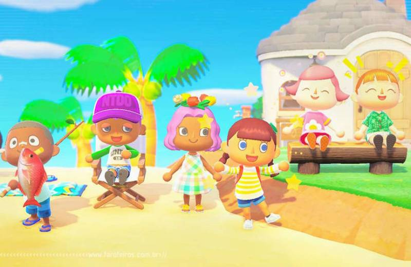 Animal Crossing New Horizons - Blog Farofeiros