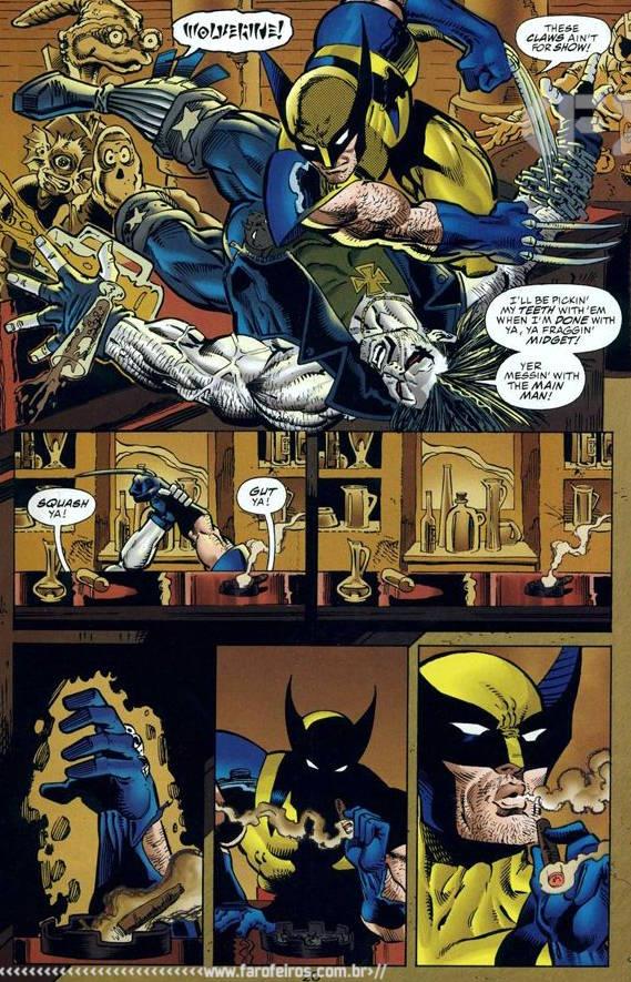 Marvel Versus DC - Wolverine Versus Lobo - última página - Blog Farofeiros