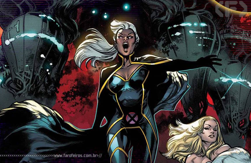 Vamos parar o Brasil - Tempestade - X-Men - Blog Farofeiros
