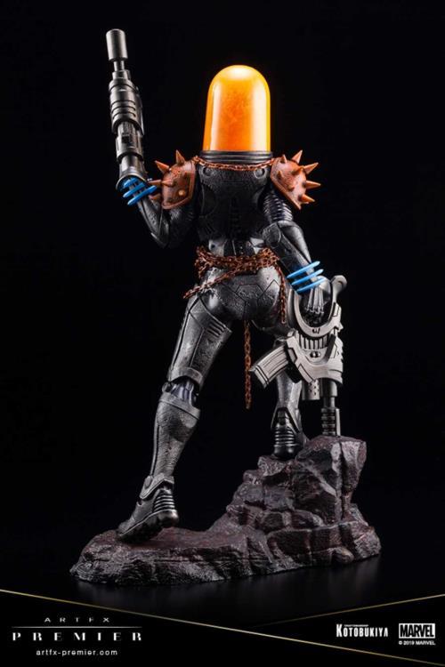 Estátua do Motoqueiro Fantasma Cósmico - Blog Farofeiros