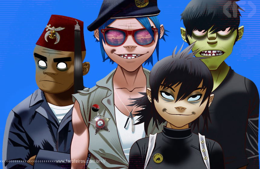 Gorillaz - We Got The Power - Blog Farofeiros
