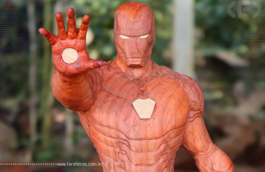 Homem de Ferro de madeira - Blog Farofeiros