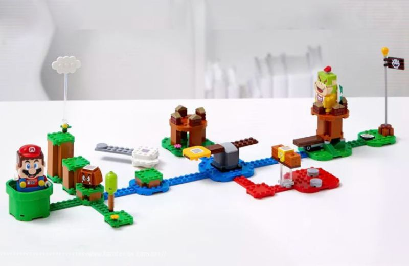LEGO Super Mario - Adventures with Mario Starter Course - Blog Farofeiros