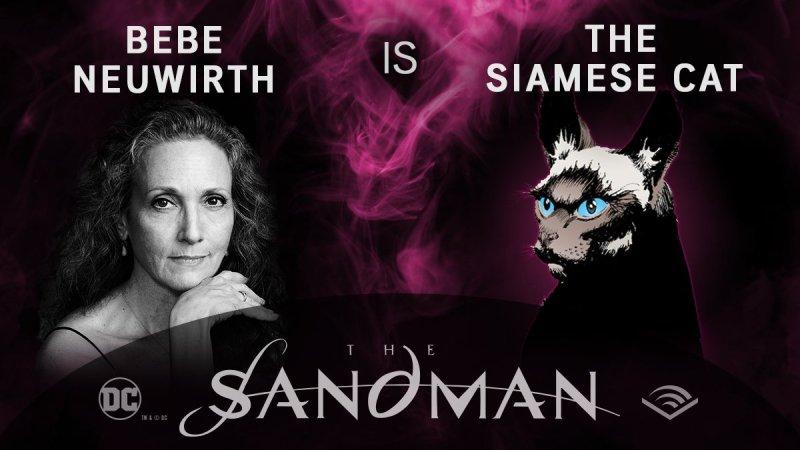 Bebe Neywirth - A Gata Siamesa - Sandman em audiobook - Blog Farofeiros