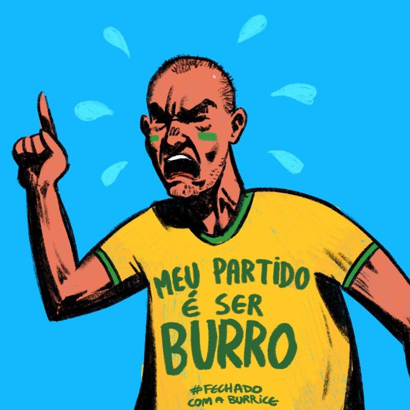 Burro - Memes diferentes para usar durante a pandemia - Blog Farofeiros
