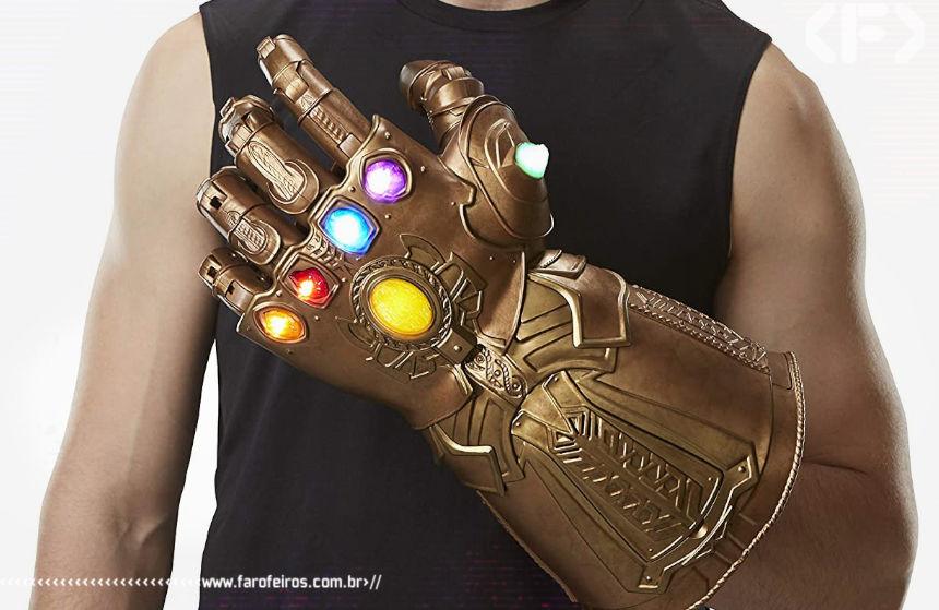 Marvel Legends - Manopla do Infinito - Hasbro - Blog Farofeiros - Geek Week Amazon