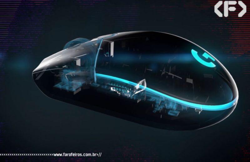 Mouse Gamer Logitech G203 Prodigy - Blog Farofeiros - Geek Week Amazon