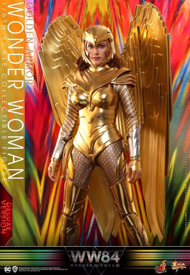 Mulher Maravilha de armadura - Hot Toys - Wonder Woman 1984 - WW84 - Blog Farofeiros