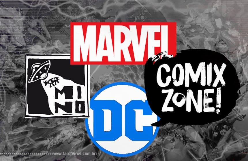 O mercado de quadrinhos durante a pandemia - Editoras - Blog Farofeiros