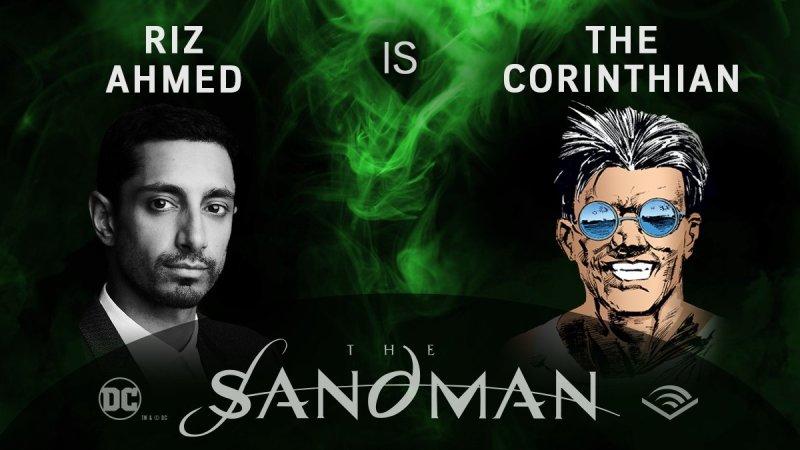 Riz Ahme - Corinthio - Sandman em audiobook - Blog Farofeiros