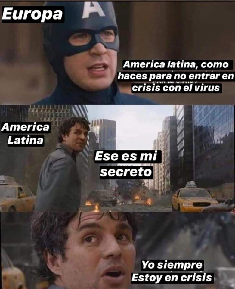 Segrado latino - Memes diferentes para usar durante a pandemia - Blog Farofeiros