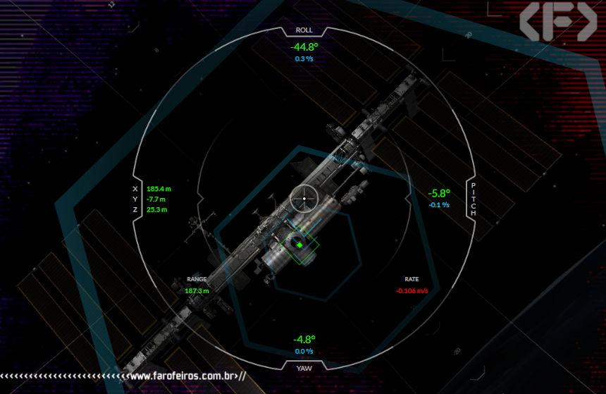 Simulador de atracamento da ISS da Space X - Blog Farofeiros