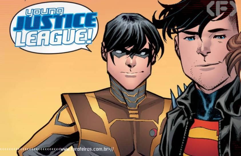 Outra Semana nos Quadrinhos #25 - Young Justice #15 - Jovem Liga da Justiça - DC Comics - Blog Farofeiros