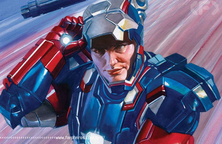 Patriota de Ferro está de volta - Alex Ross - Captain America #23 - 00 - Blog Farofeiros