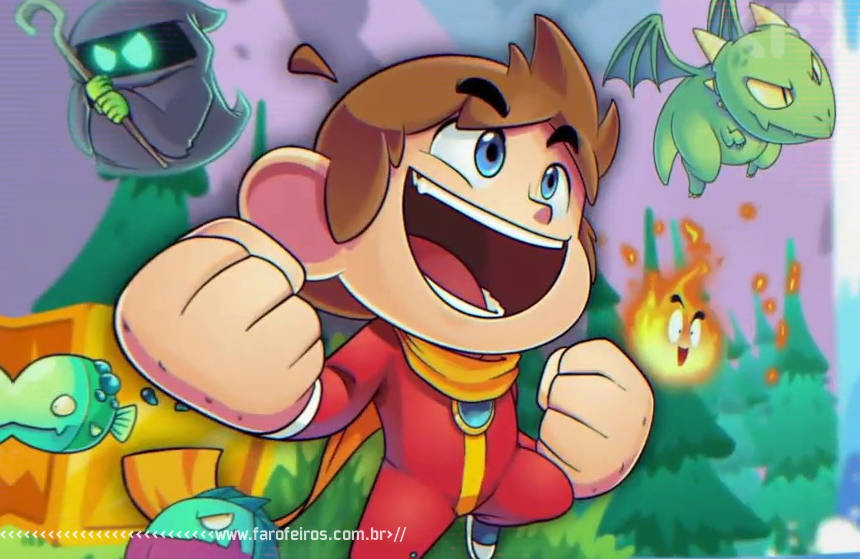 Remake de Alex Kidd in Micracle World - DX - Blog Farofeiros