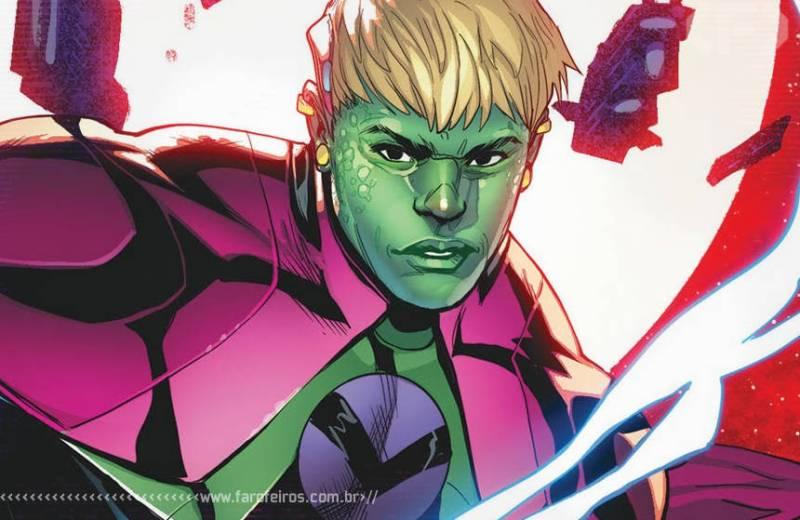 Vingadores - Quarteto Fantástico - Empyre - Marvel Comics - Blog Farofeiros - Imperador Hulkling