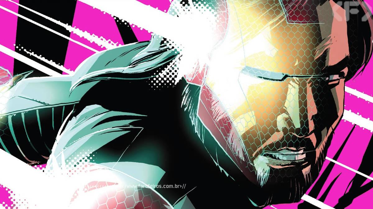 Homem de Ferro de Holograma Sólido - Marvel Comics - Iron Man 2020 #5 - Blog Farofeiros