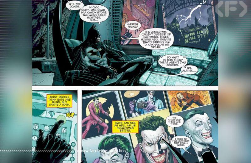 Os Três Coringas - Batman - Renascimento - Blog Farofeiros