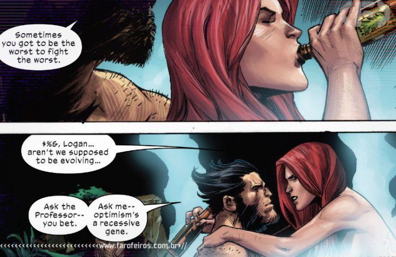 Outra Semana nos Quadrinhos #26 - X-Force #10 - Marvel Comics - Wolverine - Garota Marvel - Blog Farofeiros